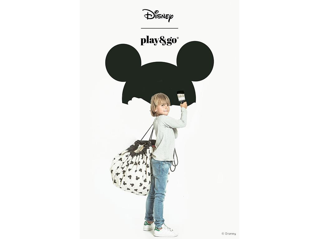 play go spielzeugsack spielmatte 140cm disney mickey maus black. Black Bedroom Furniture Sets. Home Design Ideas