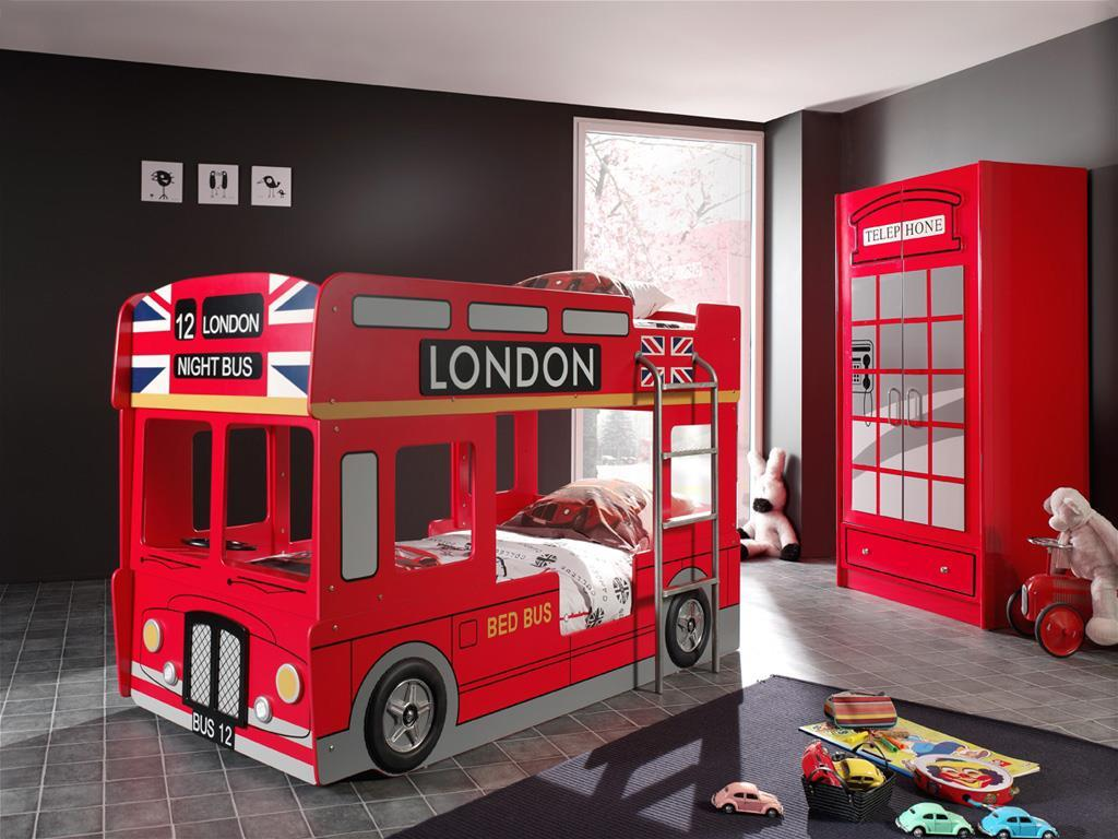 Etagenbett London Bus : Vipack etagenbett london bus cm moebel
