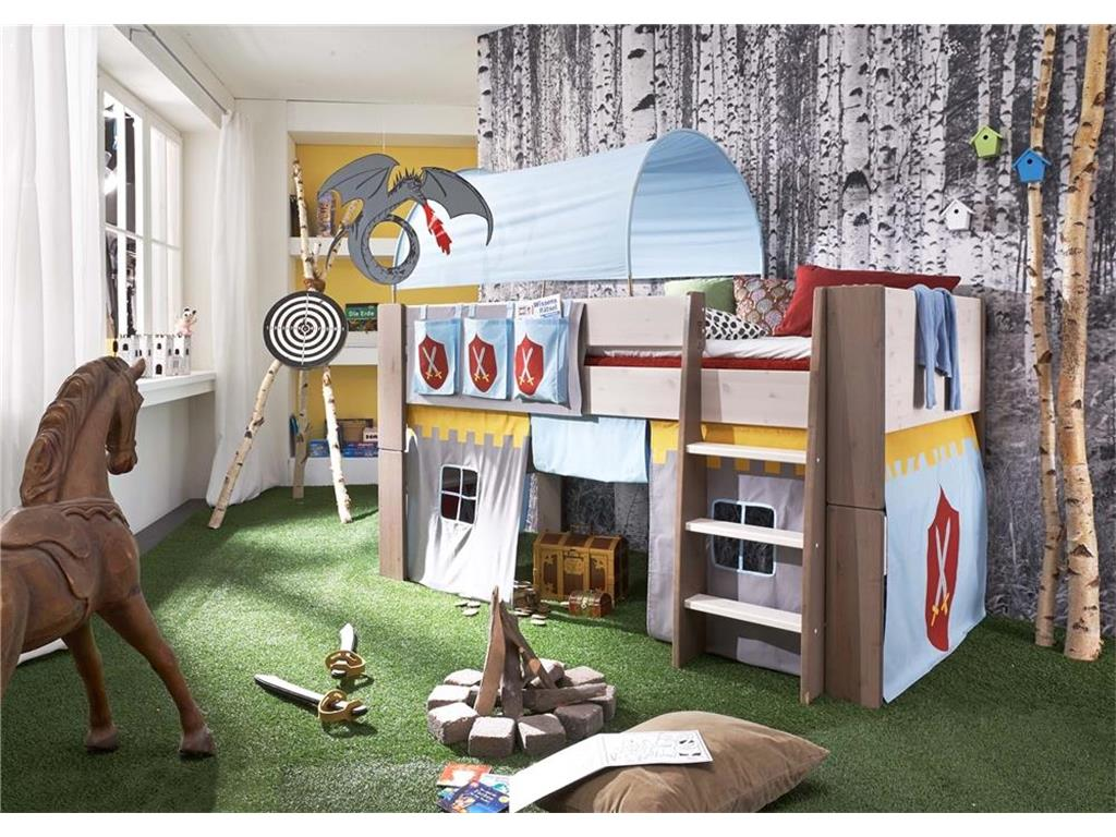 steens vorhang ritter f r hochbett for kids. Black Bedroom Furniture Sets. Home Design Ideas