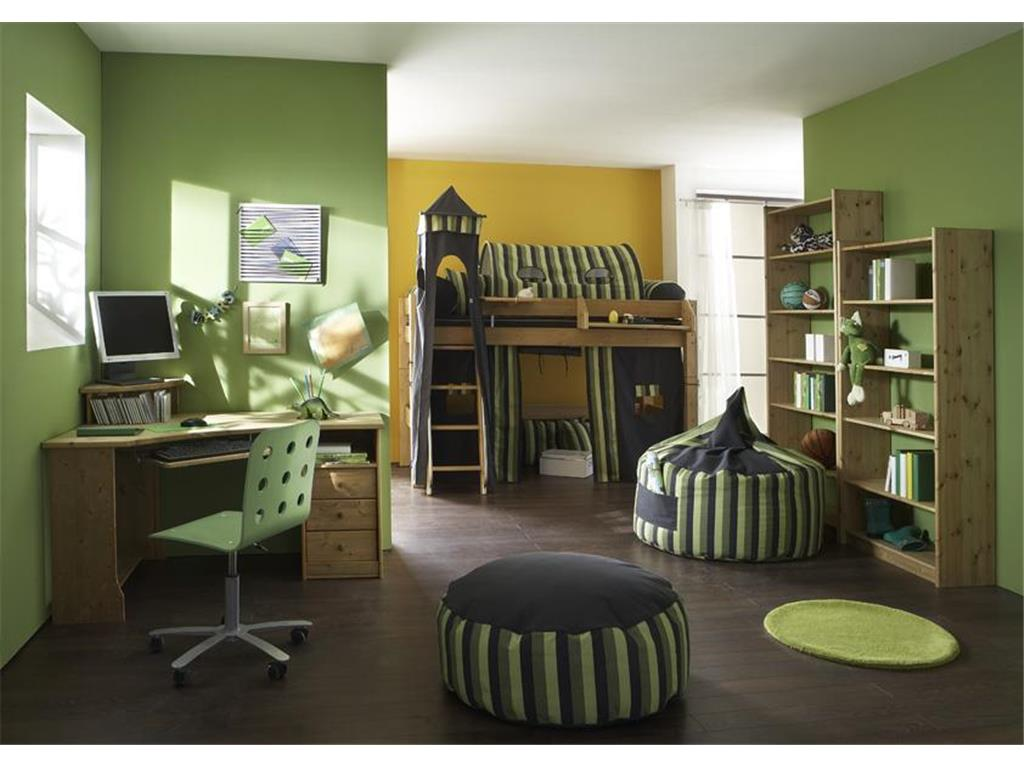 dolphin multicolor vorhang f r hochbett gestreift. Black Bedroom Furniture Sets. Home Design Ideas