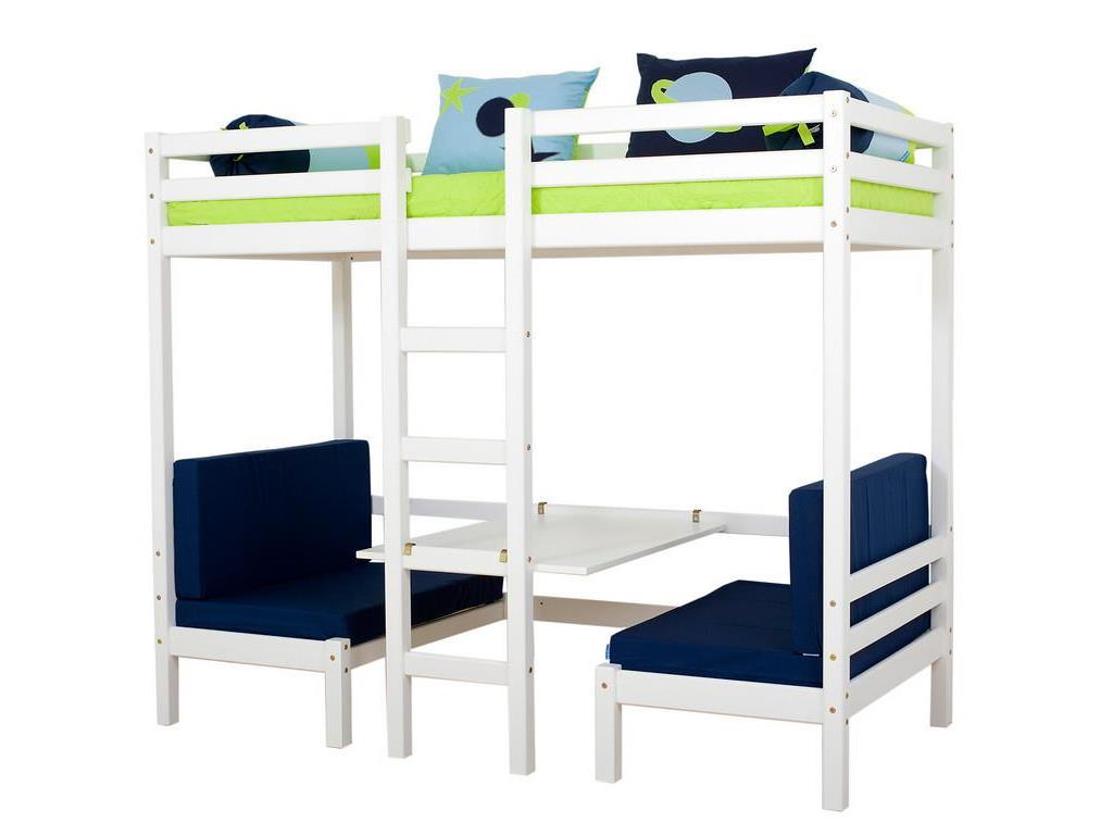 hoppekids 4 tlg matratzenset f r etagenbett hochbett jumbo. Black Bedroom Furniture Sets. Home Design Ideas