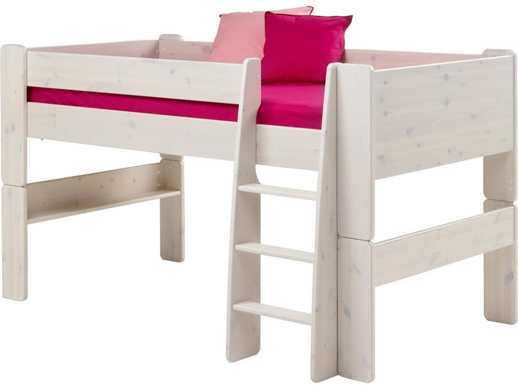 steens for kids halbhoch bett mit schreibtisch gerader. Black Bedroom Furniture Sets. Home Design Ideas