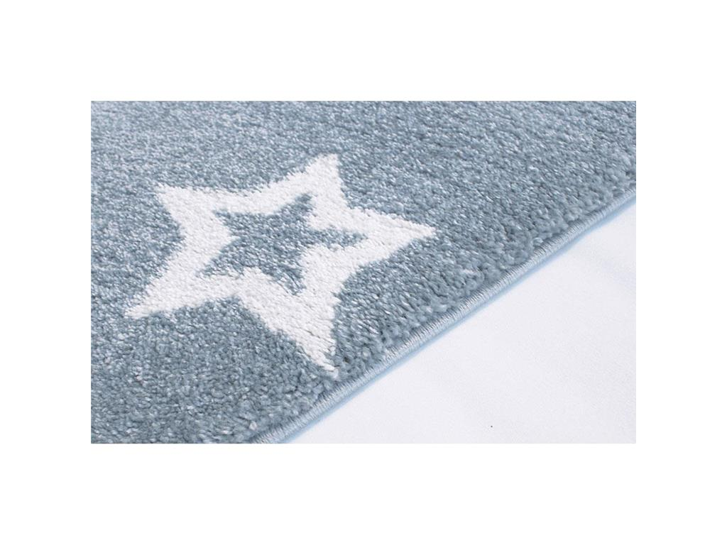 livone happy rugs teppich starlight blau wei 130x190cm. Black Bedroom Furniture Sets. Home Design Ideas