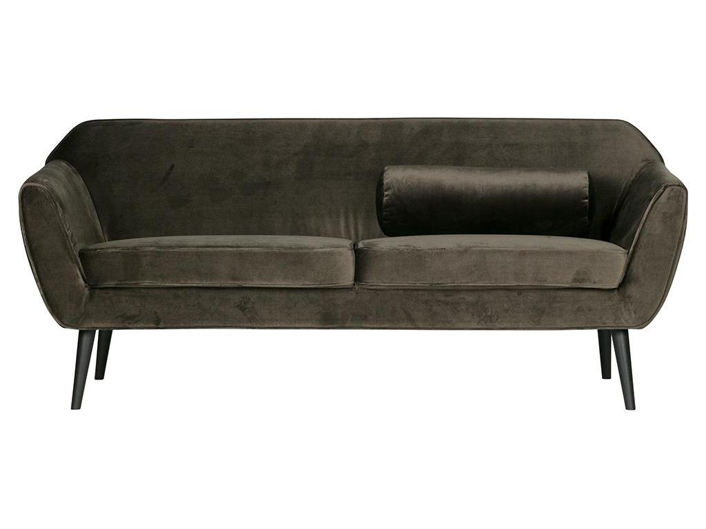 woood rocco sofa samt gr n. Black Bedroom Furniture Sets. Home Design Ideas