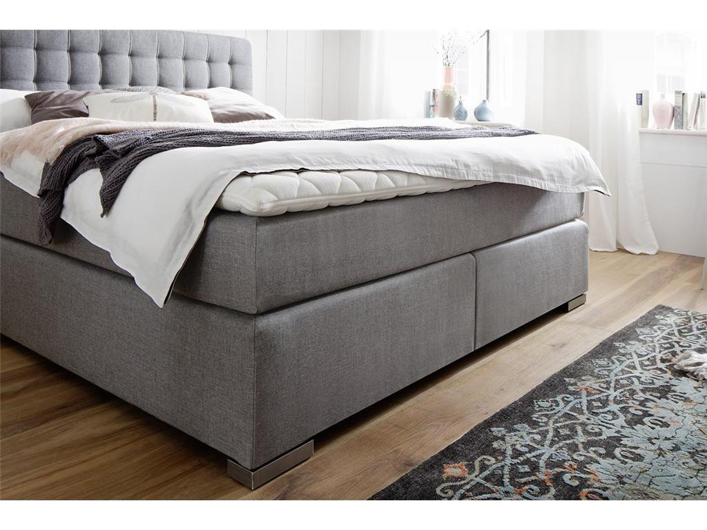 meise m bel boxspringbett lenno in farbe schwarz wei muddy oder braun. Black Bedroom Furniture Sets. Home Design Ideas