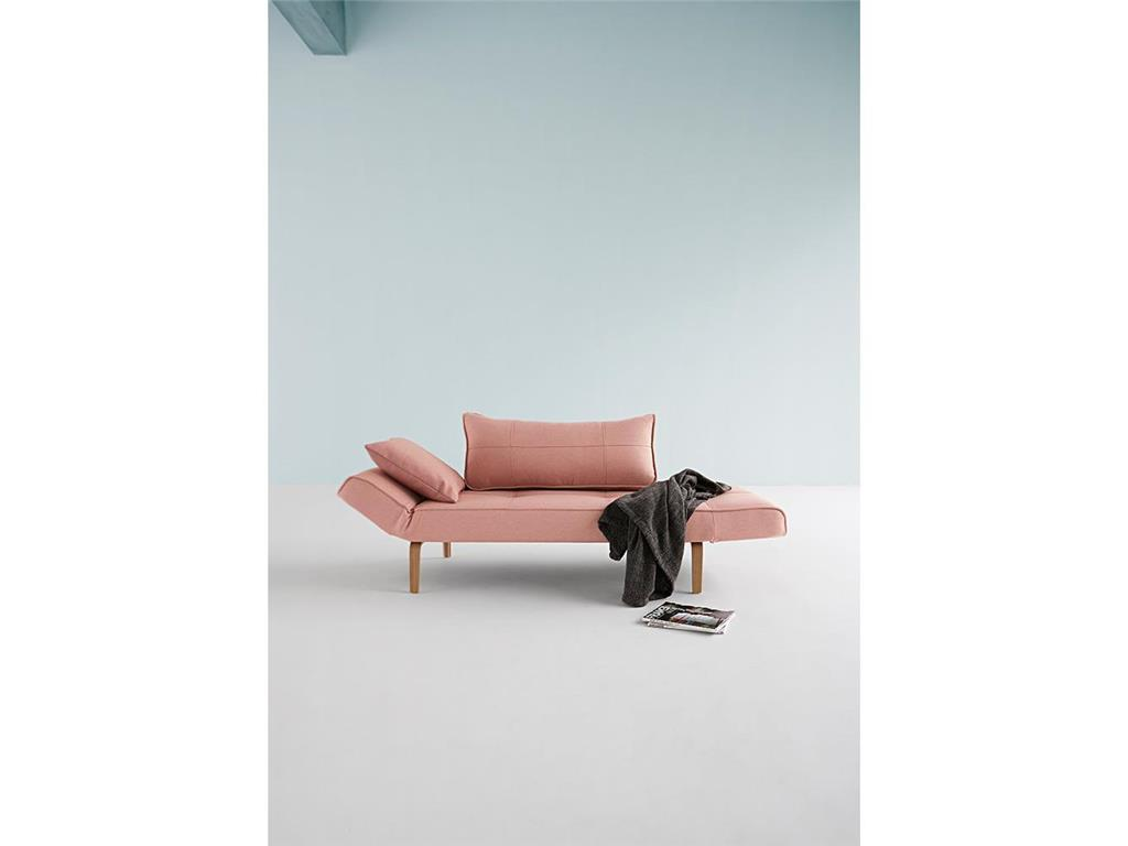 Innovation sofa zeal soft coral bow beine for Schlafsofa zeal bow