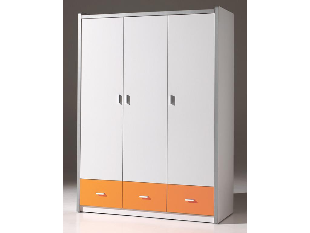 vipack bonny kleiderschrank 3 t rig h he 202 cm. Black Bedroom Furniture Sets. Home Design Ideas